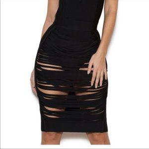 "House of CB London ""Sabine"" Cage Bandage Skirt"